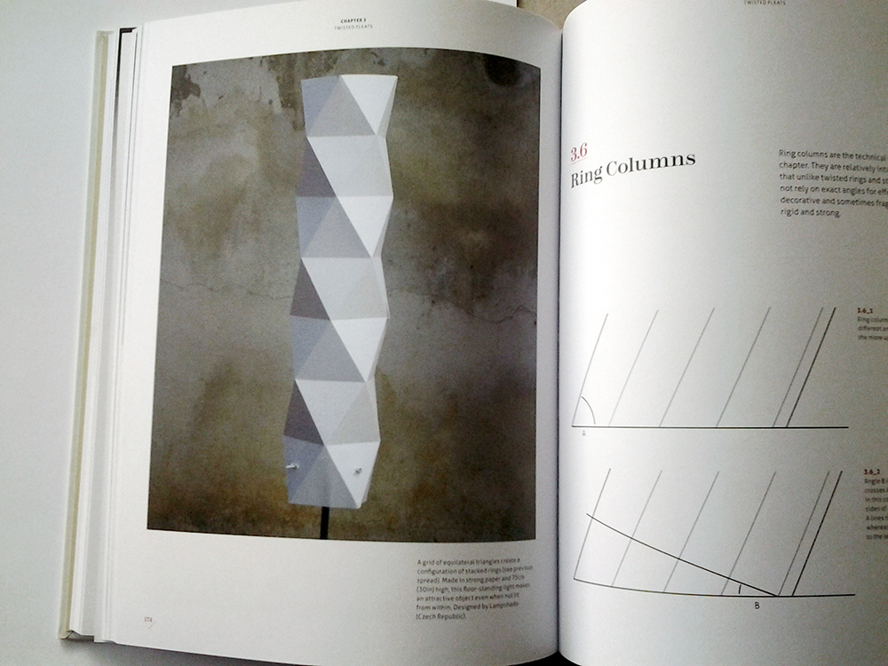 Photo TUBE X in the book Complete Pleats by Paul Jackson
